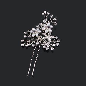 Hair pin flower pin comb vtg floral bridal new